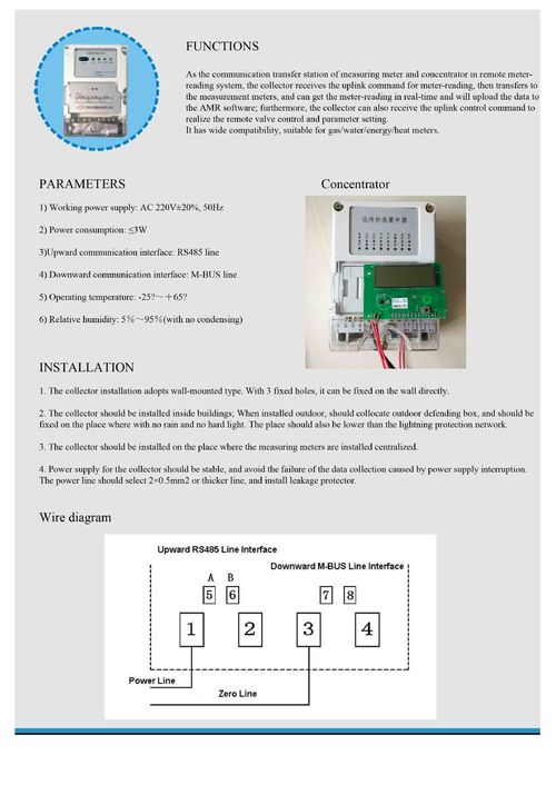 Remote automatic metering read