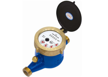DN40 Turbine Hot Water Meter Multijet Water Meters With Totalizer / Flow Rate