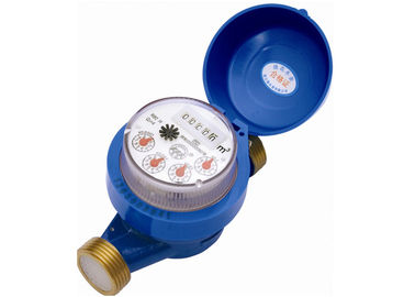 Impeller Type DN25 Multi Jet Water Meters / Single Jet Water Meter With Pulse Output