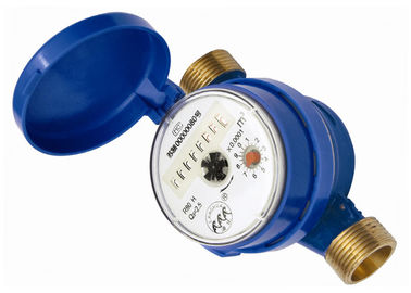 DN 20 Copper Vane Wheel Water Meter Permanent Magnetic Flowmeter