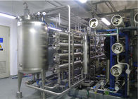 URS Reverse omosis EDI Water Treatment with distribution loop Pasteurized disinfects 15m3/h