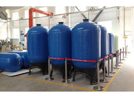 "China Top open 2.5"" NPSM FRP Pressure Tanks for reverse osmosis water treatment company"