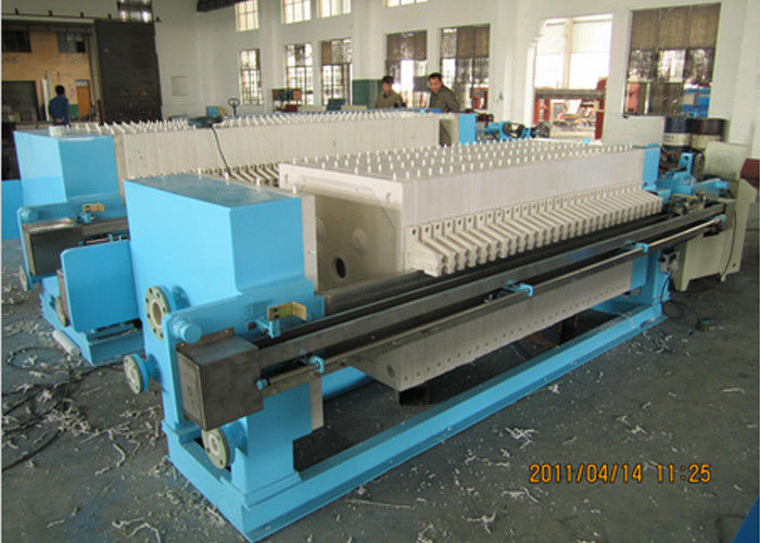 Auto Diaphragm Plate And Frame Filter Press for sludge Dewatering
