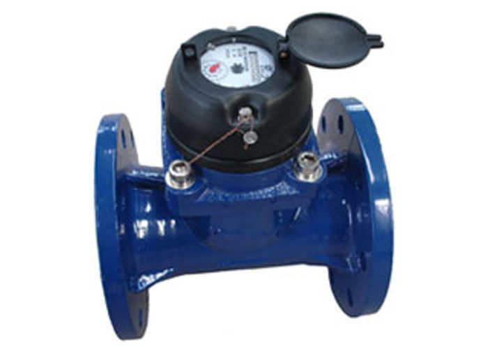 DN200 Ductile Iron Magnetic Drive Multi Jet Water Meter For Bulk Volume Measurement
