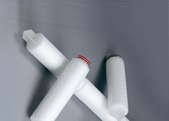 PS Membrane Pleated Replacement Water Filter Cartridges For Semi Conductor Filtration 0.02μM