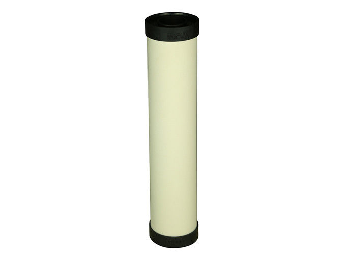 Micro Porous Ceramic Cartridge Filter Vessels With GAC / Carbon Block Insterter
