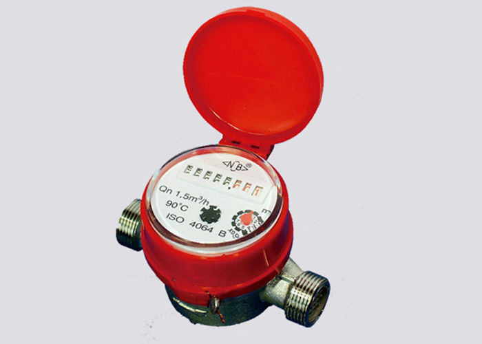 Hot Water Meter Single Jet LXDG25 Brass Body Class B Energy Meter