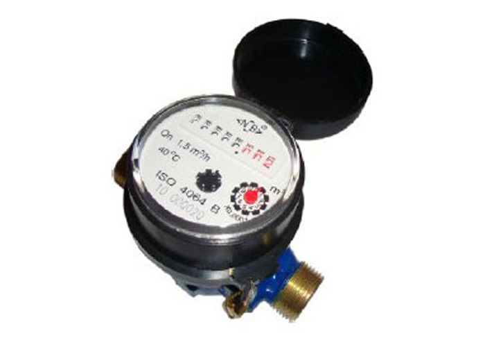 Plastic Vane Wheel Multi Jet Water Meter For Residential Volumetric Measurement