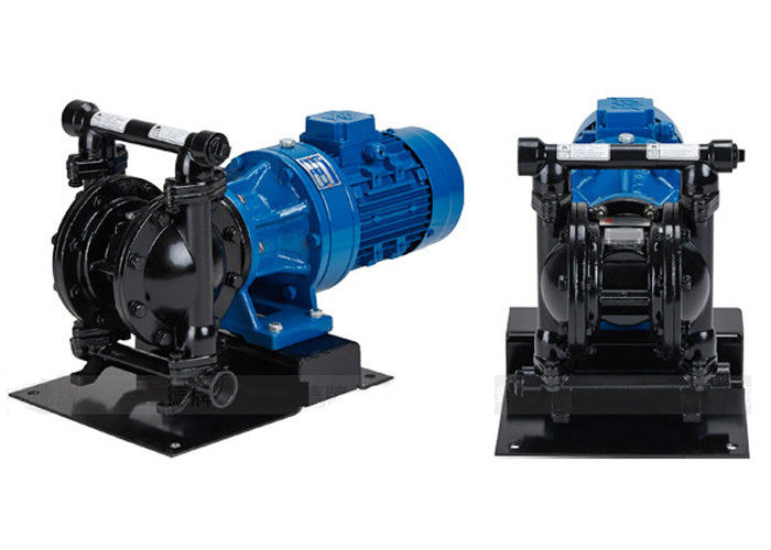 Cast Steel Electric Diaphragm Pumps Double Diaphragm For Waste Water Transfer DN40