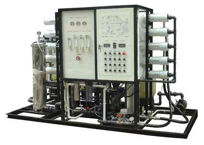 S S Brackish RO Water treatment  system With PLC and touch screen