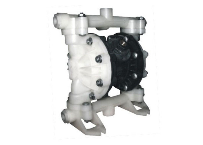 PVDF pneumatic air operated double diaphragm pump for chemical manufacturing