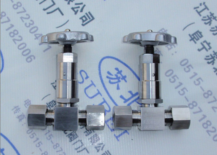Pin type cutting ferrule stop valve for electroplating PN0.6 Mpa to PN80 Mpa DN2 to DN65 mm