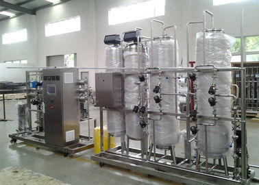 China EDI RO water treatment equipment for pharmacy / pharmaceutical / medicine URS CP factory