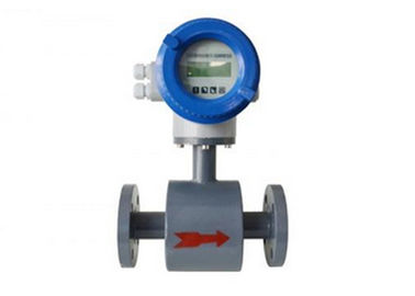 PTFE Liner And Local Display Magnetic Flow Meters DN200 For Waste Water , Pulp And Slurries