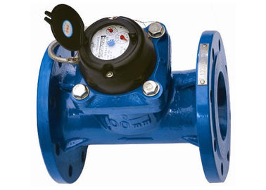 Woltman Water Flow Meter Multi Jet Water Meter Reed With Positive Displacement
