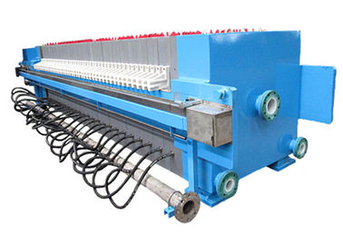 Automatic Chamber Filter Press For Slurry Treatment , 2000L 1250 Mm Plate Size