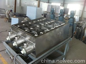 SS304 Multi Disc Screw Plate And Frame Filter Press Machine For Slurry Dewater