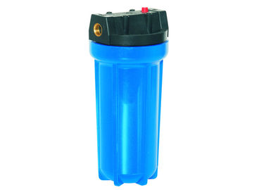 "20"" BB Big Blue Plastic Cartridge Filter Vessels With Vent 1"" Inlet / Out For 4.5"" Filter Cartridge"