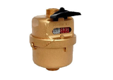 Volumetric water meter also called rotary piston water meter to be instead of multi jet water R=160H DN15 brass