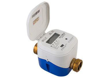 Convectional Type Residential Water Utility Ultrasonic Water Meter Brass Tube R 160