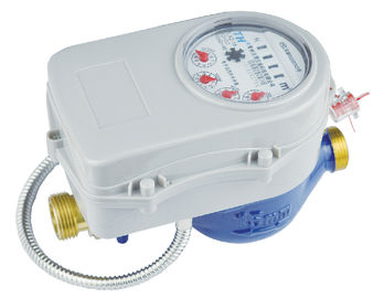 Liquid Seal Hot Water Meter DN15mm With ISO 4064 For Municipal Water Supply