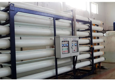 China Heavy duty  Brackish Water Reverse Osmosis Systems / RO Water Treatment Plant factory