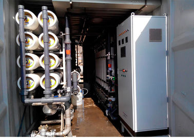 Containerized  Reverse Osmosis Seawater RO Plant for drinking water production