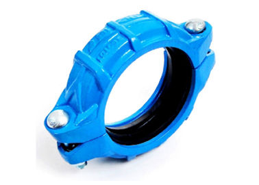 High pressure Ductile iron flexible couplings for grooved quick pipe joints 1000psi 69bar