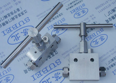 Gate type cutting ferrule stop valve for aquariums PN0.6 Mpa to PN80 Mpa DN2 mm to DN65 mm
