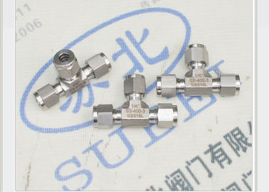 Union Tees Straight Grooved Piping Systems  double ferrules for pipe connection tube system PN16 Mpa