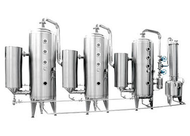 Triple effect energy saving Cartridge Filter Vessels for starch sugar & food breast product