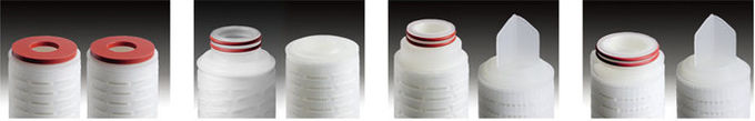 Glass Microfiber Cartridge Filter Vessels For Air And Gas Filter , Steaming Sterilize