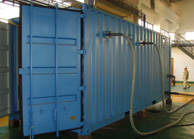 40ft Containerized Carbon steel Seawater RO Plant for drinking water
