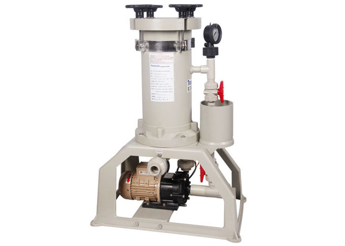 CPVC chemical filter system 70L/min 180W For Waste water treatment
