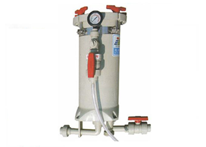 5hp Twin Serial Filter Tank Chemical Filtration Systems